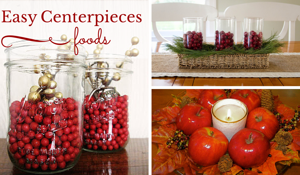 easy holiday centerpieces